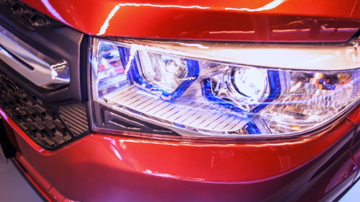 Передняя оптика автомобиля Lifan MYWAY