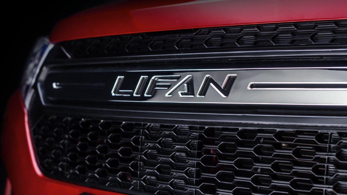 Радиаторная решётка автомобиля Lifan MYWAY