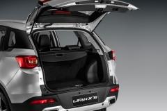 Lifan X70 с открытым багажником