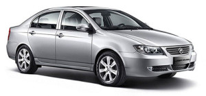 Общий вид седана Lifan 620